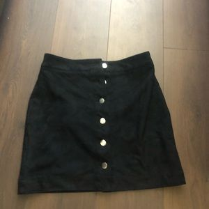 H&M Skirts - H&M suede skirt size 8